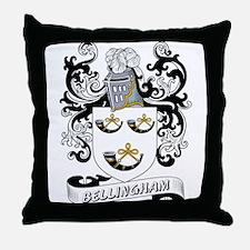 Bellingham Coat of Arms Throw Pillow