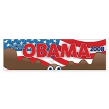 Vote Obama Moose Bumper Bumper Sticker
