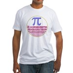 Pi-250 Fitted T-Shirt