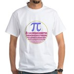 Pi-250 White T-Shirt