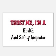 Trust Me I'm a Health And Safety Inspector Postcar