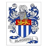 Blackwell Coat of Arms Small Poster