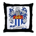Blackwell Coat of Arms Throw Pillow