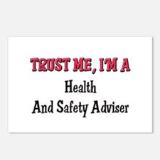 Trust Me I'm a Health And Safety Adviser Postcards