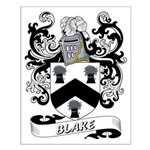 Blake Coat of Arms Small Poster