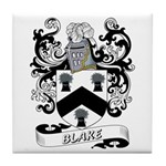 Blake Coat of Arms Tile Coaster