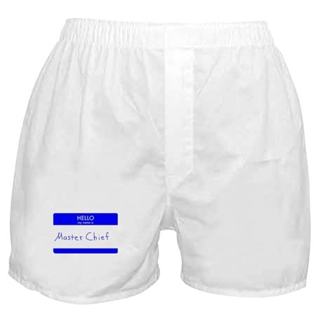 My name is Master Chief Boxer Shorts