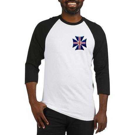 British Biker Cross Baseball Jersey
