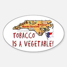 NC Tobacco! Oval Decal