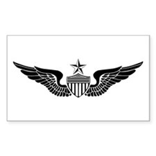 Sr. Aviator Rectangle Decal