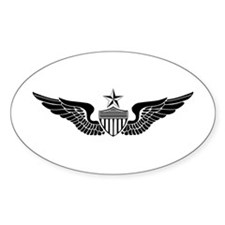 Sr. Aviator Oval Decal