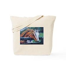 Horses Canvas Tote/Shopping Bag
