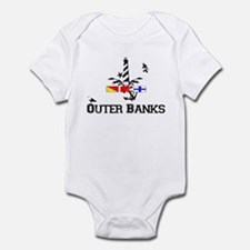 Hatteras Lighthouse   Infant Bodysuit