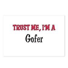 Trust Me I'm a Gofer Postcards (Package of 8)