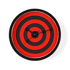 <b>RED CIRCLES</b><br>Wall Clock