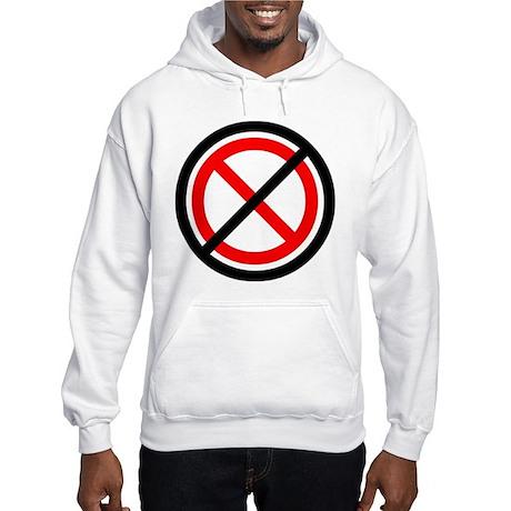 No Banning Hooded Sweatshirt