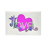 Love Gifts Rectangle Magnet (100 pack)