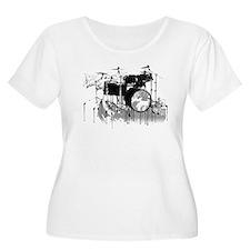 Drum Set Graffiti T-Shirt