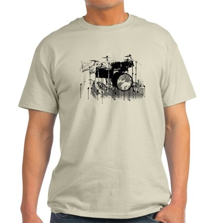 Drum Set Graffiti Light T-Shirt
