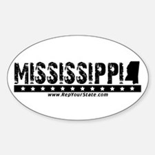 Mississippi Oval Decal
