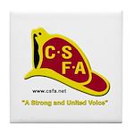 CSFA Tile Coasters