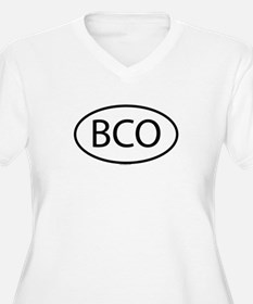 BCO Womes Plus-Size V-Neck T-Shirt