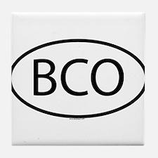 BCO Tile Coaster
