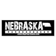 Nebraska Bumper Bumper Sticker