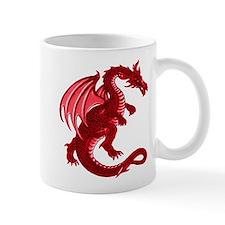 Red Dragon Small Mug