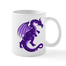 Purple Dragon Small Mug