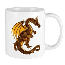 Gold Dragon Mug
