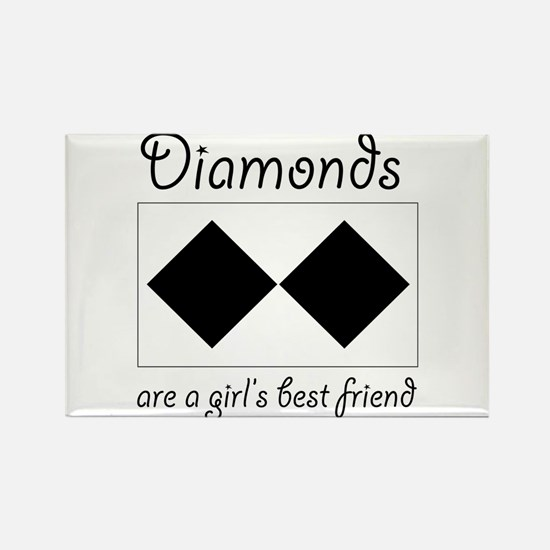 Double Diamond Rectangle Magnet (10 pack)