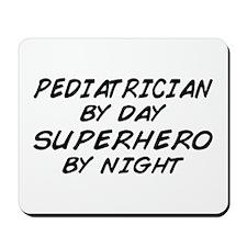 Pediatrician Superhero Mousepad