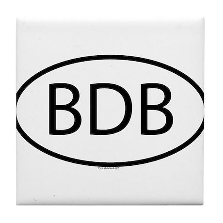 BDB Tile Coaster