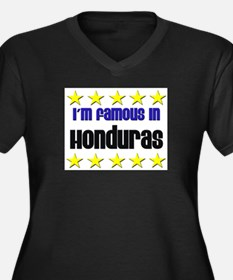I'm Famous in Honduras Women's Plus Size V-Neck Da