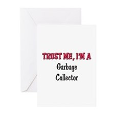 Trust Me I'm a Garbage Collector Greeting Cards (P