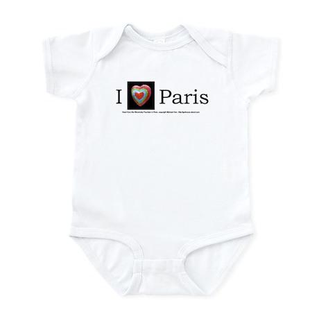 I Love Paris Infant Creeper