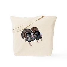 Wild Turkey Pair Tote Bag