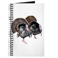 Wild Turkey Pair Journal