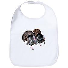 Wild Turkey Pair Bib