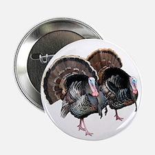 """Wild Turkey Pair 2.25"""" Button (100 pack)"""