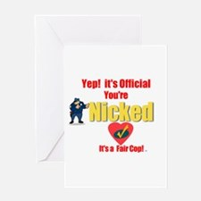 A Fair Cop.:-) Greeting Card