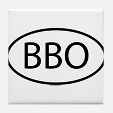 BBO Tile Coaster