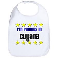 I'm Famous in Guyana Bib
