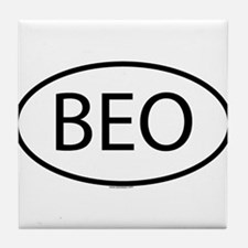BEO Tile Coaster