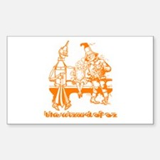 The Wizard of Oz Rectangle Decal
