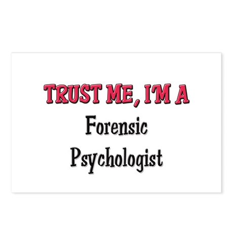 Trust Me I'm a Forensic Psychologist Postcards (Pa