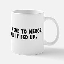 If fed ex and ups were to mer Mug