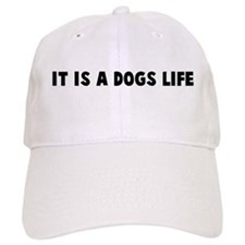 It is a dogs life Baseball Cap