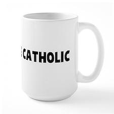 Is the pope Catholic Mug